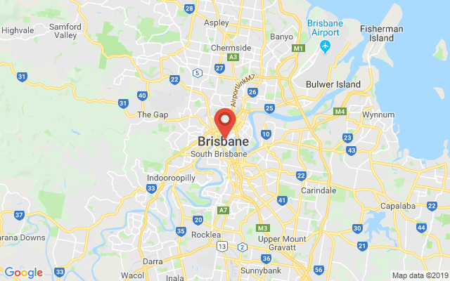 Google map image of Brisbane Qld 4000